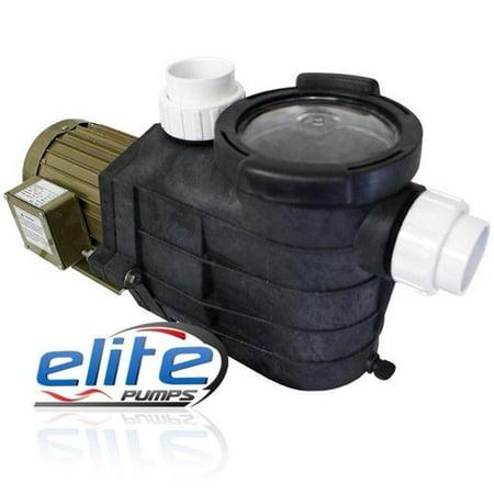 Elite Pumps 9600PRM28 Primer Pro Series 9600 GPH Self-Priming External Pond Pump](Ellie Pumps)