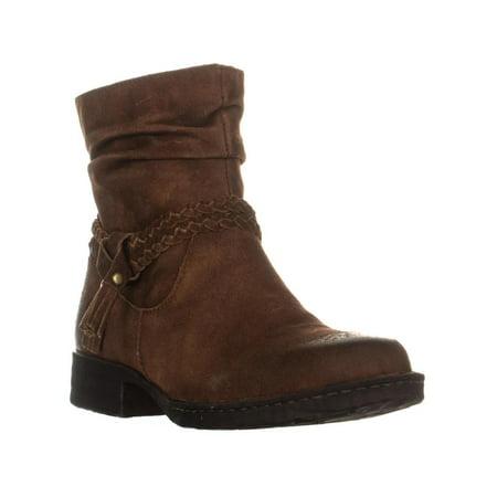 Womens Born Ouvea Braid Ankle Boots, Rust, 8.5 US / 40 EU ()