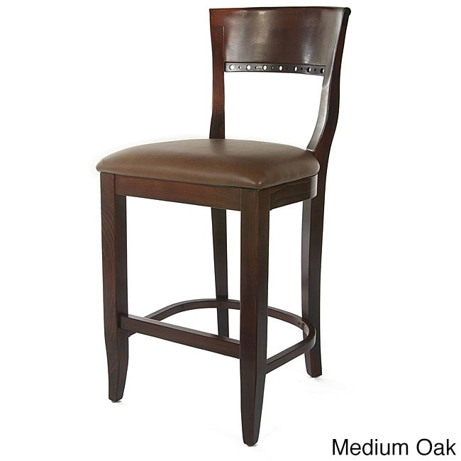 Beechwood Mountain LLC Biedermier Counter Bar Stool by Overstock