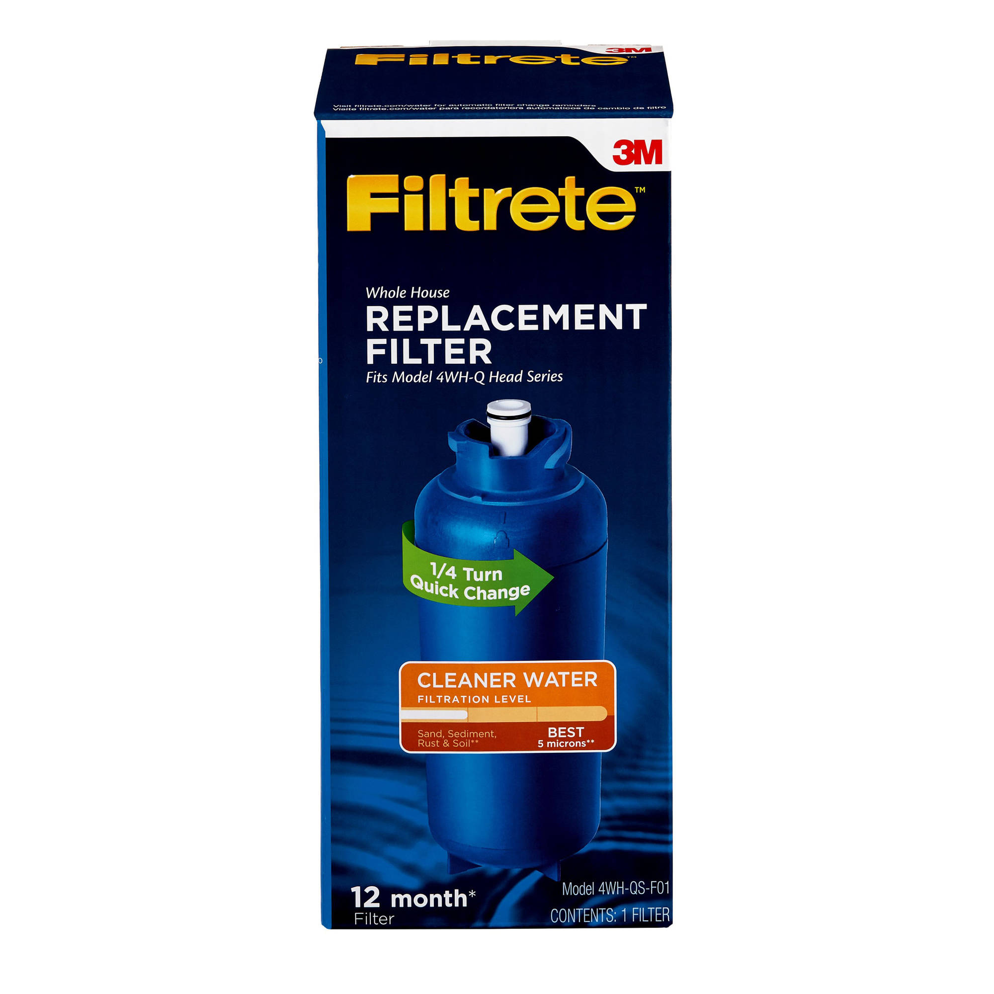 "Filtrete"" Quick Change, Basic Filtration Replacement Filter (sediment)"