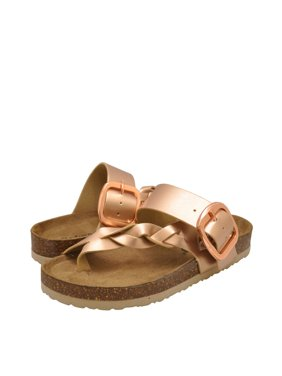 eed6eb60e00a Product Image Outwoods Bork-67 Women's Vegan Strappy Buckle Sandals 21384