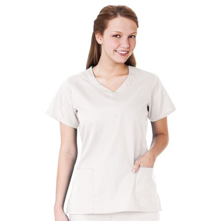 Fundamentals F3 By White Swan Overlap V-Neck Scrub Top