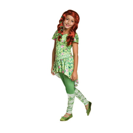 Kids Poison Ivy Costume](Easy Poison Ivy Costume)