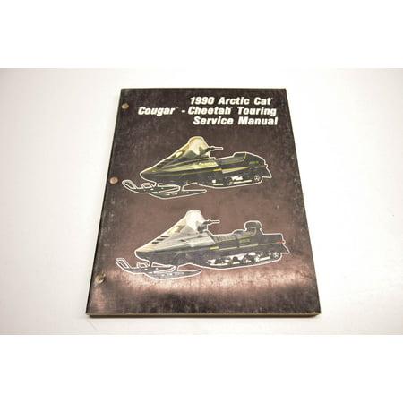 Car Service Manual - Arctic Cat 2254-575 1990 Cougar Cheetah Touring Service Manual QTY 1