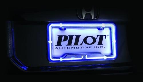 H A Motorsports 111473613152 Neon Light License Plate Fra.