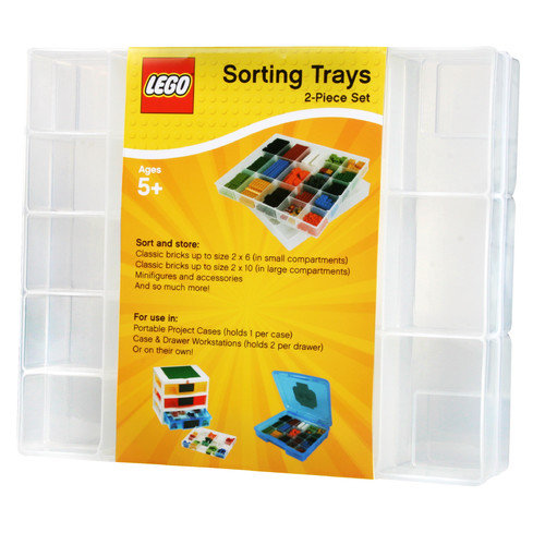 Iris LEGO Organizer Tray (Set of 2) (Set of 4)
