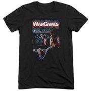 Wargames Poster Mens Tri-Blend Short Sleeve Shirt