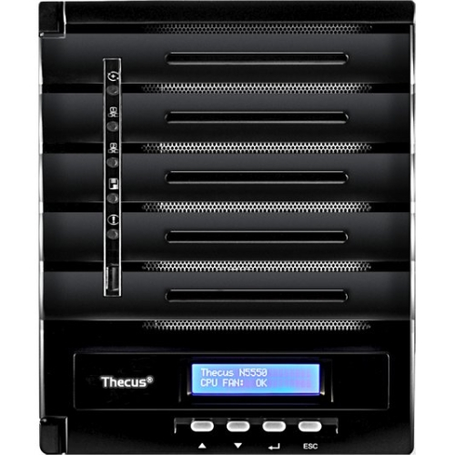 Thecus N5550 5-Bay Network Storage Server - Intel Atom