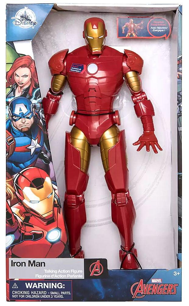 Disney Store Marvel Avengers Iron Man Talking Action Figure Light Up Toy Gift