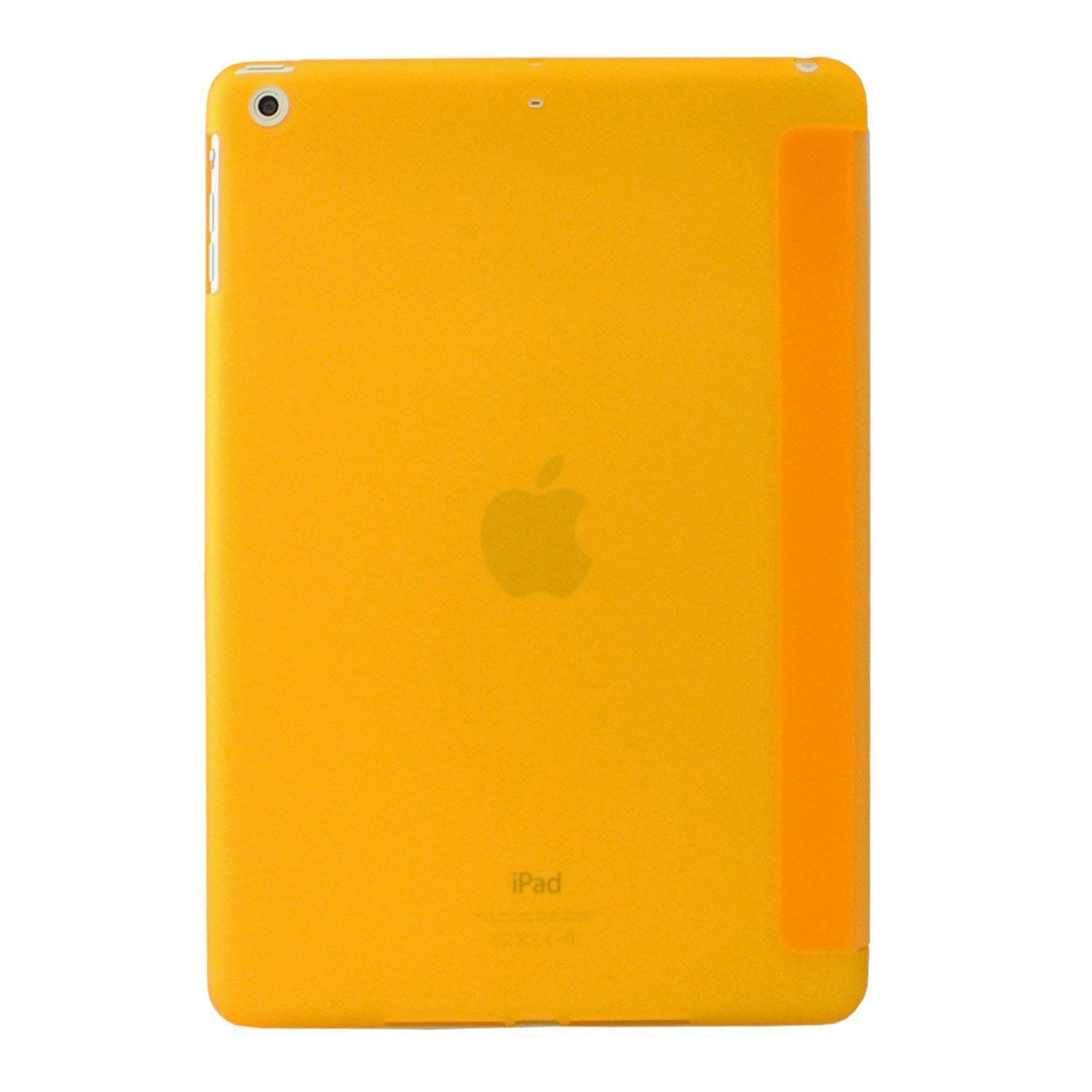 MIIU by Digiparts Ultra Thin Magnetic Smart Cover & Clear Back Case for Apple iPad Air(5th Gen), Yellow - image 2 of 5