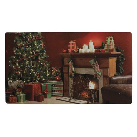 attraction design home christmas scenes doormat