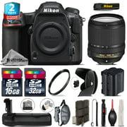 Nikon D500 DSLR + 18-140mm VR Lens + Battery Grip + Extra Battery - 48GB Kit