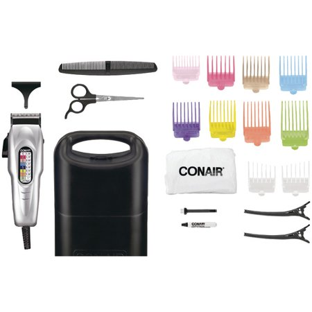 Conair 20 Piece iHaircut Kiti with Number Coded Clipper and