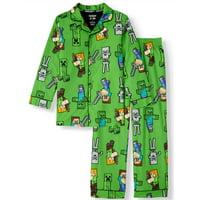 Boy's Minecraft Pajama Coat Set (Little Boy & Big Boy)