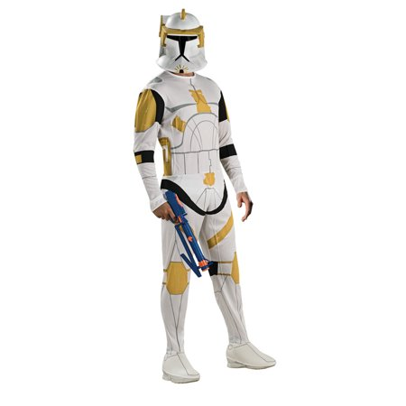 Adult Clone Trooper Commander Cody Costume Rubies 888806 for $<!---->