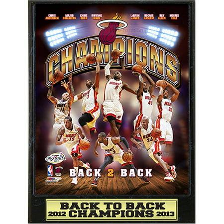 NBA Miami Heat Champions Photo Plaque, 9x12