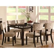 A Line Furniture Luxenberg Cappuccino 7-piece dining set