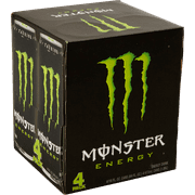 Monster Energy Drink, Original, 16 Fl Oz, 4 Count by Monster Energy