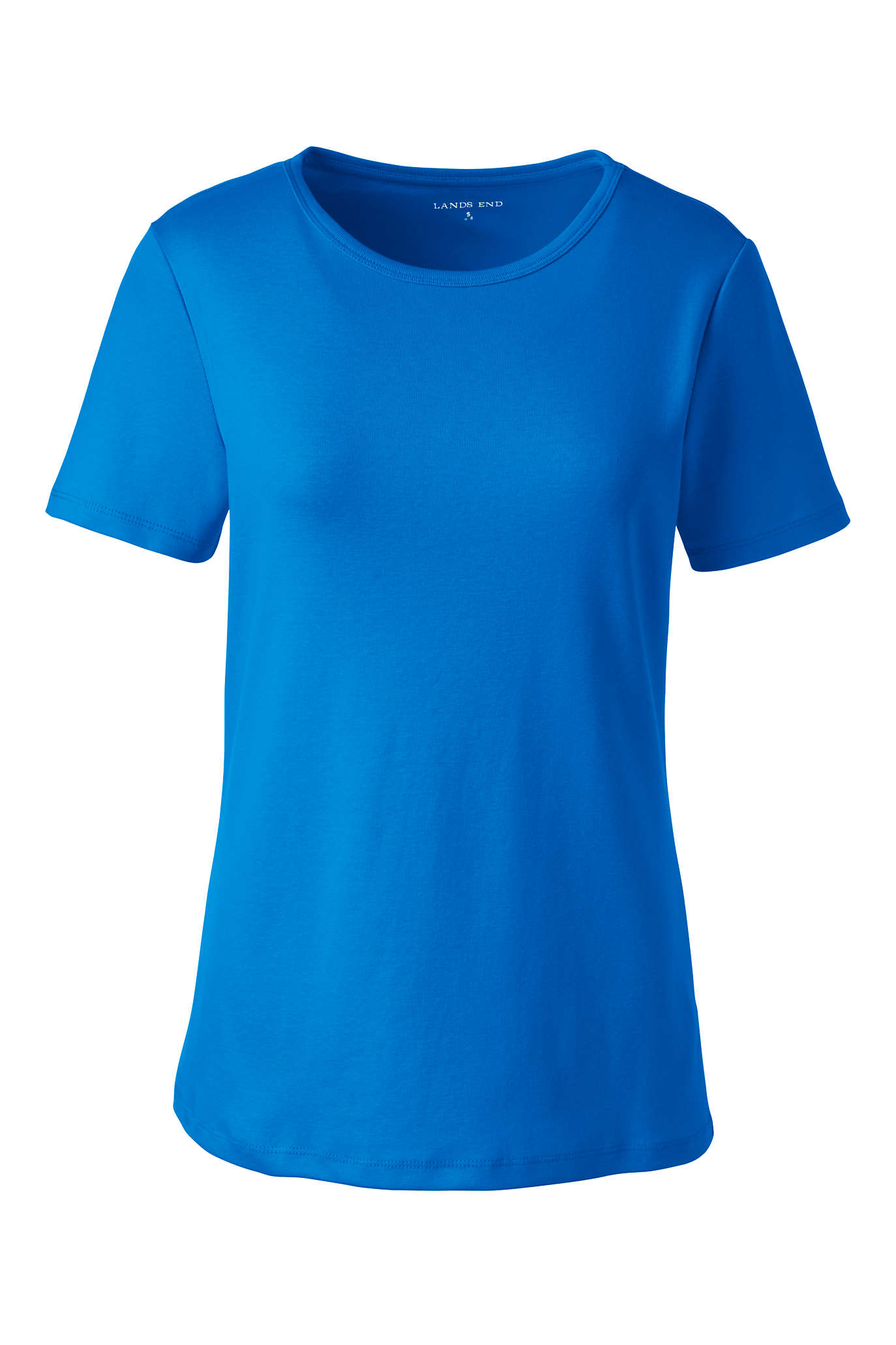 Women's Plus Size Rib Crew Neck Shirt