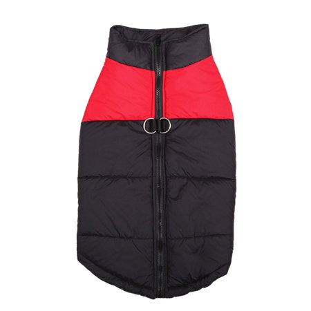 - Padded Cold Winter Warm Vest Jacket Pet Clothes For Medium/Large Dogs