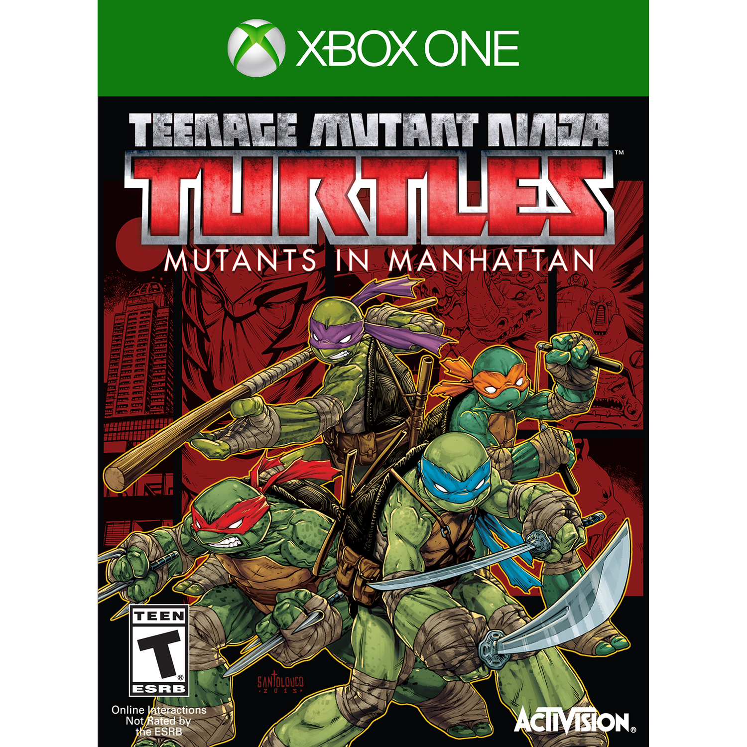 Teenage Mutant Ninja Turtles: Mutants Take Manhattan - Pre-Owned (Xbox One)