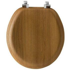 Pleasing Cherry Wood Look Hard Veneer Toilet Seat Standard Size Round Andrewgaddart Wooden Chair Designs For Living Room Andrewgaddartcom