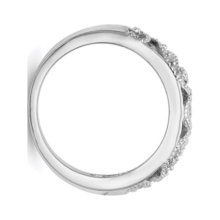 ?tats-Unis - Or blanc 14 ct AA ? diamants - image 2 de 7