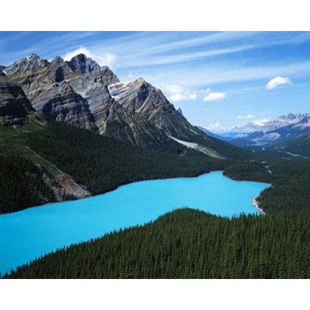 Peyto Lake Banff National Park Alberta Canada Poster Print by Charles Gurche