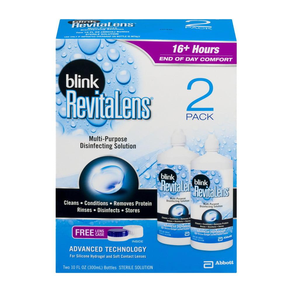 RevitaLens Ocutec Multi Purpose Contact Disinfecting Solution, 10 Fl Oz, 2 Ct