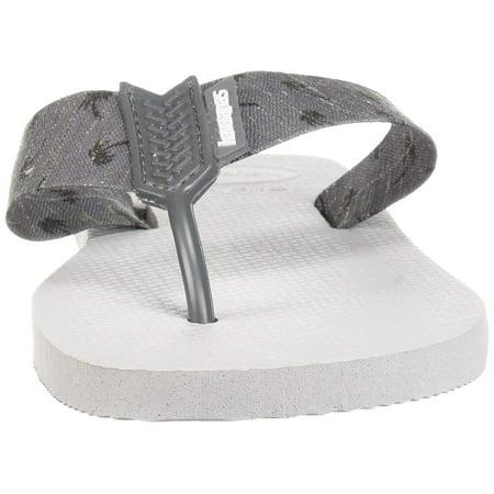 0a4f627e9 Havaianas Men s Urban Series Sandal Ice Steel Grey