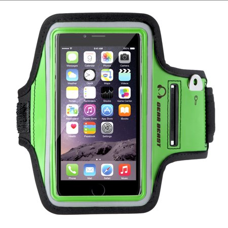 factory price 5bfbd 16429 Gear Beast Sports Armband Case For iPhone X 8 7 6 6s 5 SE Samsung Galaxy S7  S6 S6 Edge, Cell Phone Holder For Running Jogging Workout Fitness And ...