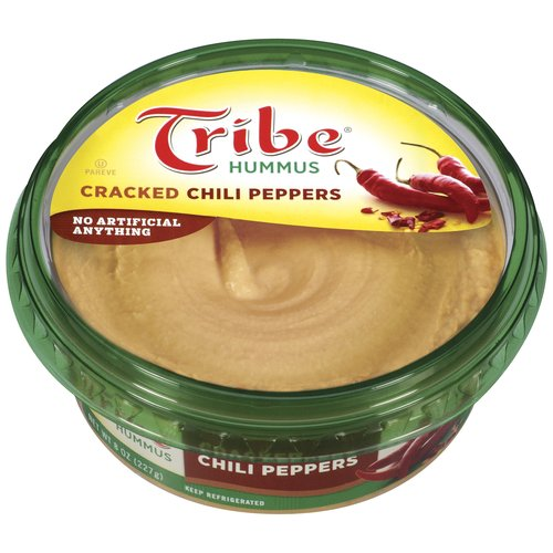 Tribe Cracked Chili Peppers Hummus, 8 oz