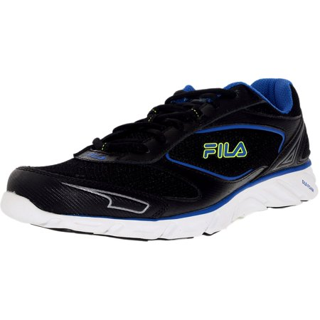 a9df18a5ca6dc Fila Men's Ancerus 5 Black/Neo Grey/Purple Blue Ankle-High Running Shoe - 9M