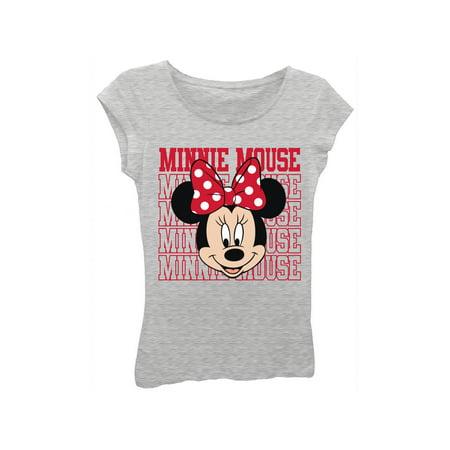 Minnie Mouse Custom Shirts (Disney Minnie Mouse Graphic T-Shirt (Little Girls & Big)
