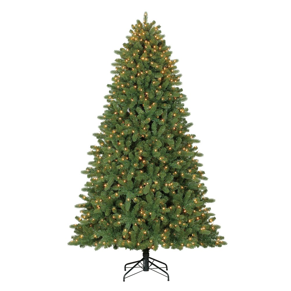 Home Heritage 7.5' Artificial Wilmington Pine Christmas Tree with Clear Lights