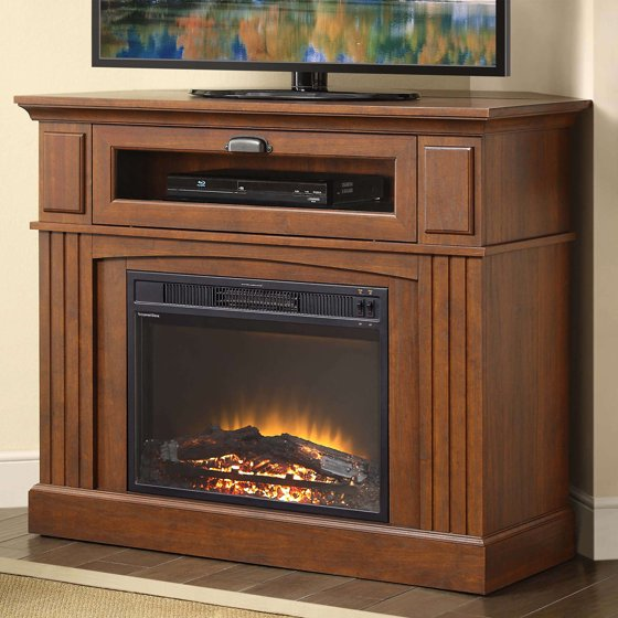 "Buy Whalen Sumner Corner Media Electric Fireplace for TVs up to 45"" at Walmart.com"