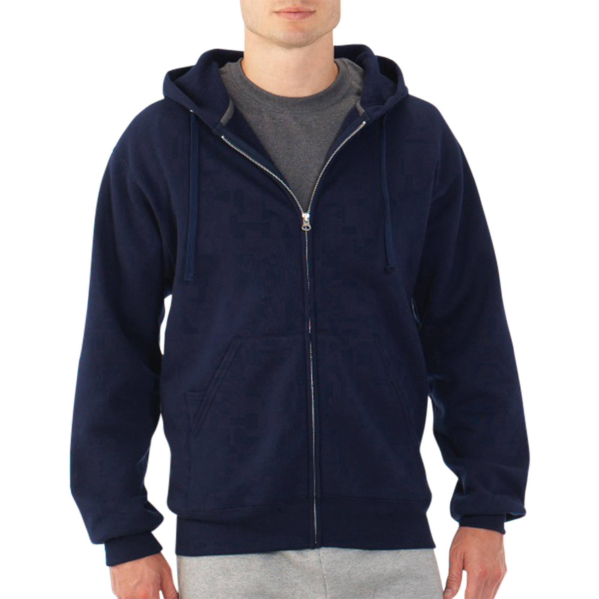 Men's Fleece Full Zip Hooded Sweatshirt