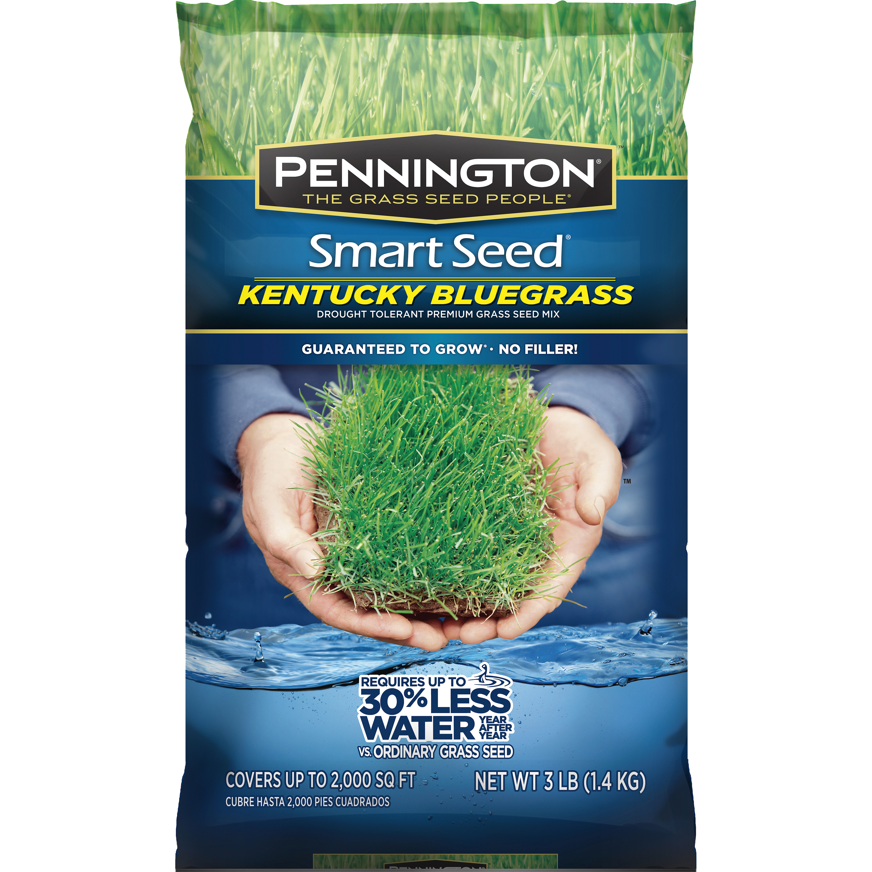 Pennington Smart Seed Kentucky Bluegrass Blend, 3 lbs