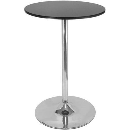 black and chrome furniture. Spectrum Pub Table, Black And Chrome Furniture