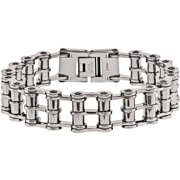 Stainless Steel Polished Bracelet, 8.5