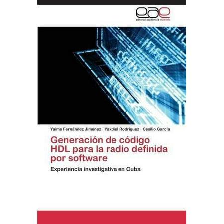 Generacion De Codigo Hdl Para La Radio Definida Por Software
