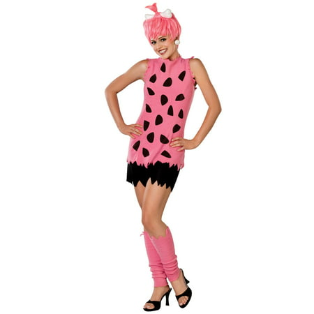 Flintstones Pebbles Adult Couple Costume