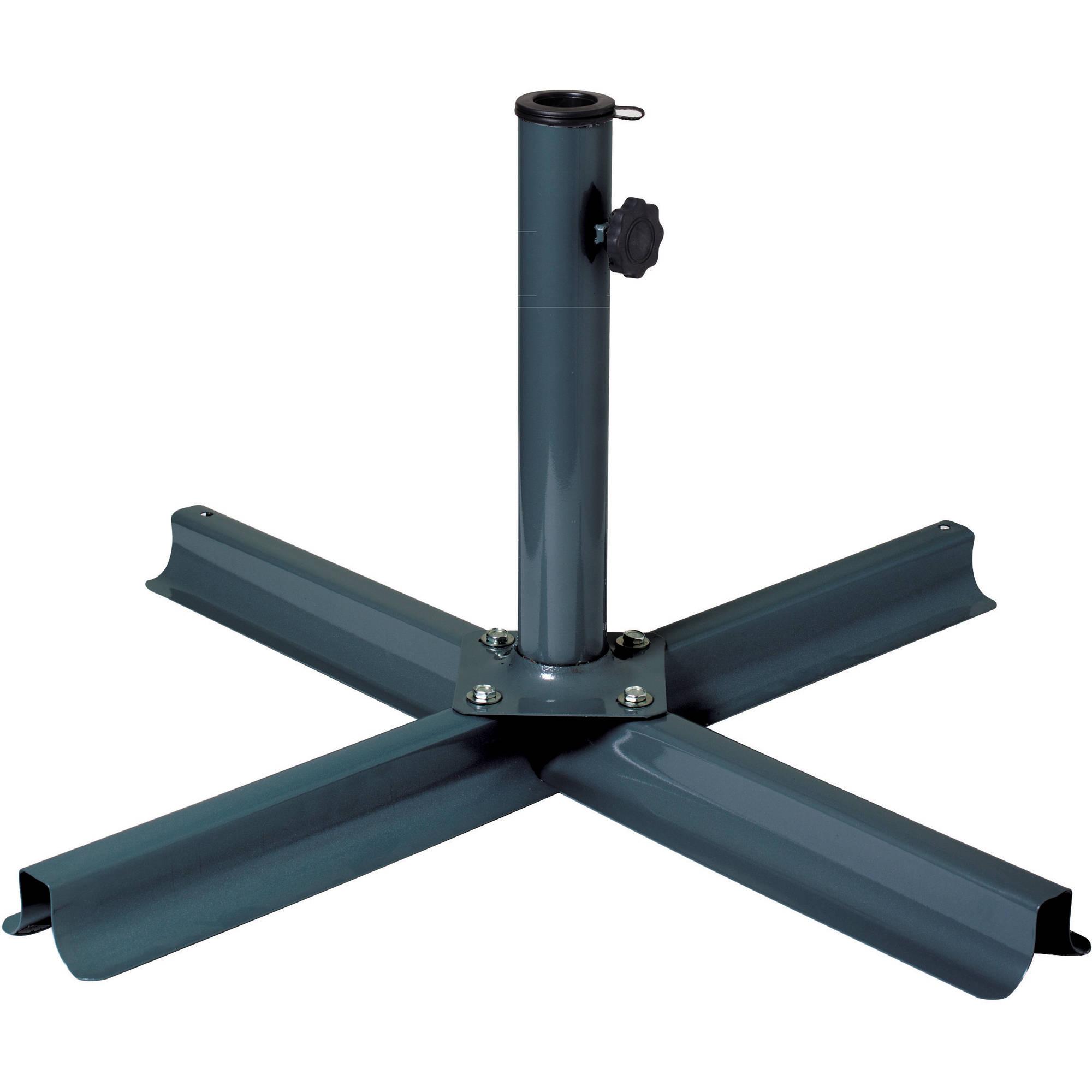 Good CorLiving Grey Patio Umbrella Stand
