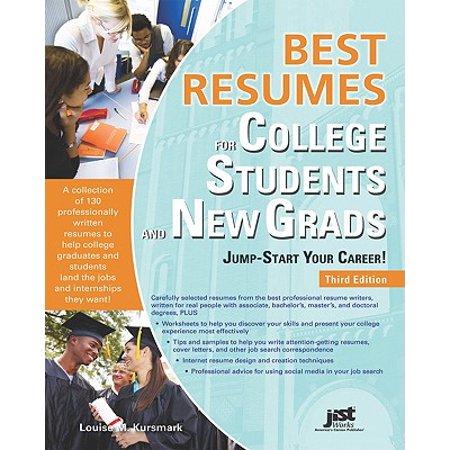 Best Res Coll Stud & New Grad 3e (Best Cs Grad Schools)
