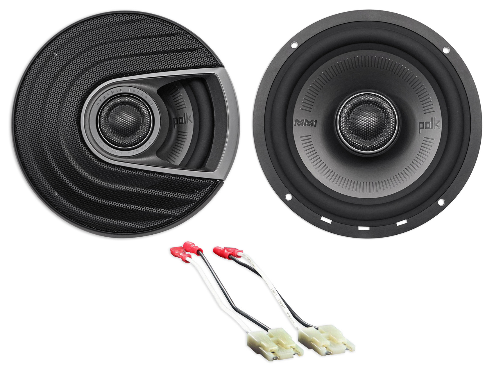 1999-2004 Jeep Grand Cherokee Polk Audio Rear Factory Speaker Replacement Kit by Polk%27s Meat