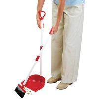 Miles Kimball Long Handled Dust Pan with Broom by Miles Kimball