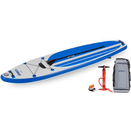 Sea Eagle LB11 Inflatable Long Board SUP - Start Up (Eagle Package)