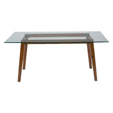 Jofran 505 72B Plantation 72 Inch Rectangle Dining Height Table Base Walmar