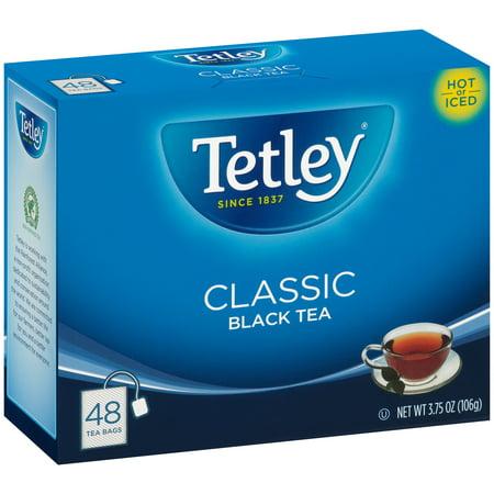 Classic Tea Bags Box - (2 Pack) Tetley® Classic Black Tea Bags 48 ct Box