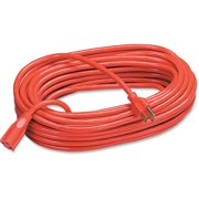 Compucessory Heavy-duty Indoor/Outdoor Extsn Cord, Orange